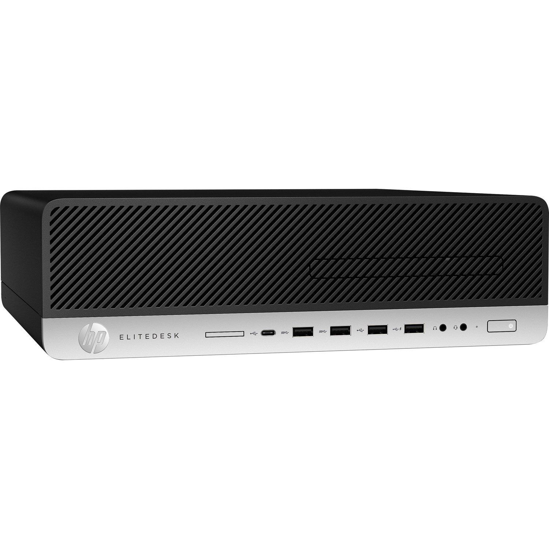 HP EliteDesk 800 G5 Desktop Computer - Core i5 i5-9500 - 8 GB RAM - 256 GB SSD - Small Form Factor