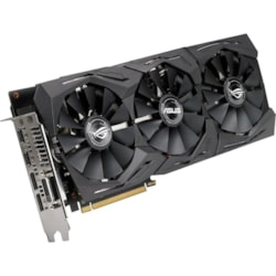 ROG ROG-STRIX-RX580-T8G-GAMING Radeon RX 580 Graphic Card - 1.41 GHz Core - 1.43 GHz Boost Clock - 8 GB GDDR5 - Triple Slot Space Required