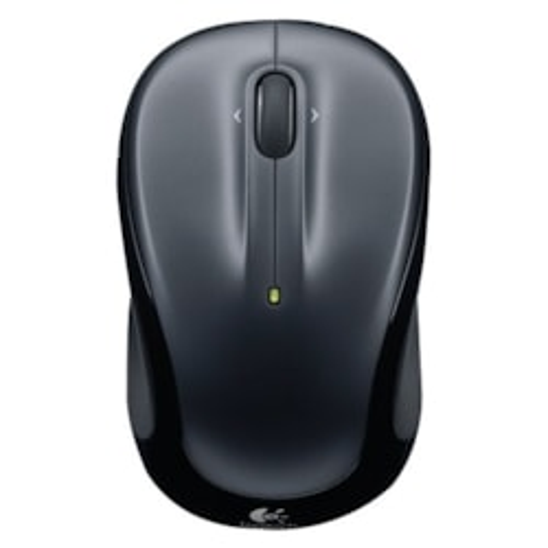 Logitech M325 Mouse - Optical - Wireless - Dark Silver