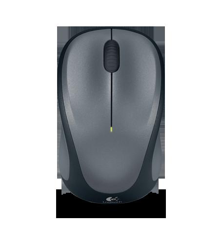 Buy Logitech M235 Mouse - Optical - Wireless - Colt Gray