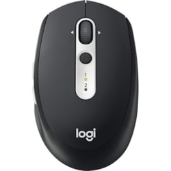 Logitech M585 Mouse - Bluetooth/Radio Frequency - USB - Optical - 5 Button(s) - Graphite