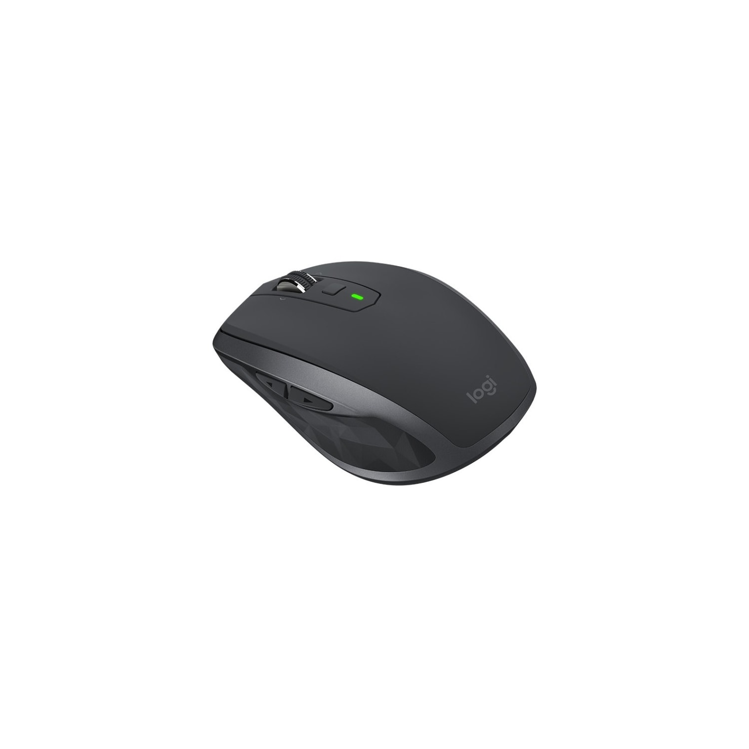 Logitech MX Anywhere 2S Mouse - Bluetooth/Radio Frequency - USB - Darkfield  - 7 Button(s) - Graphite
