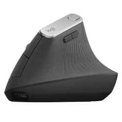 Logitech MX Vertical Mouse - Optical - Cable/Wireless - 4 Button(s)
