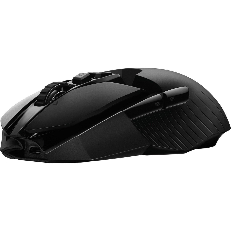 Logitech LIGHTSPEED G903 Gaming Mouse - Wi-Fi - USB - Black