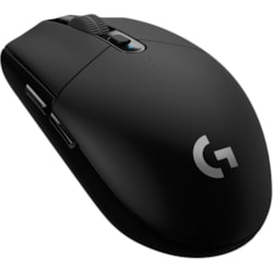 Logitech LIGHTSPEED G305 Gaming Mouse - Wi-Fi - USB - Optical - 6 Button(s) - Black