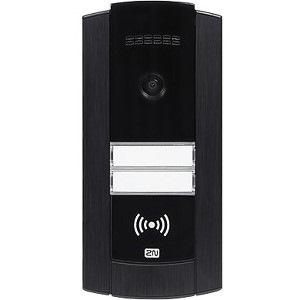 2N Ip Base With Camera, Black Frame Black Frame