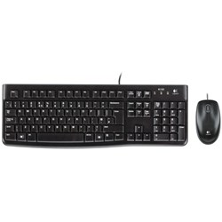 Logitech MK120 Keyboard & Mouse - Retail