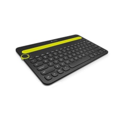 Logitech K480 Keyboard - Wireless Connectivity - Black