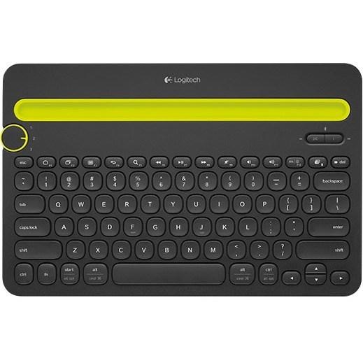 Buy Logitech K480 Keyboard Wireless Connectivity Black Bluetooth