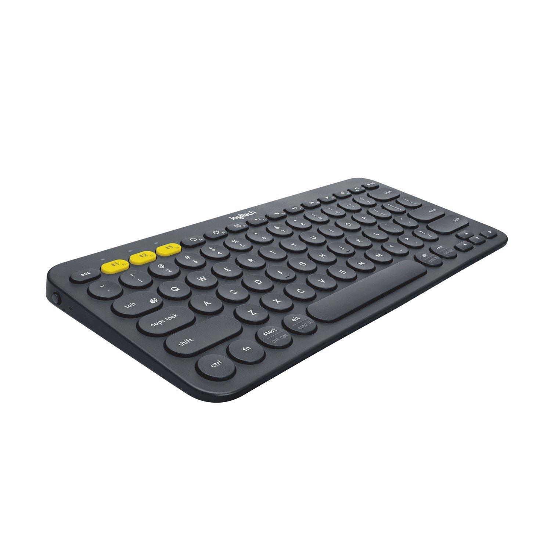 Logitech K380 Keyboard - Wireless Connectivity - Black