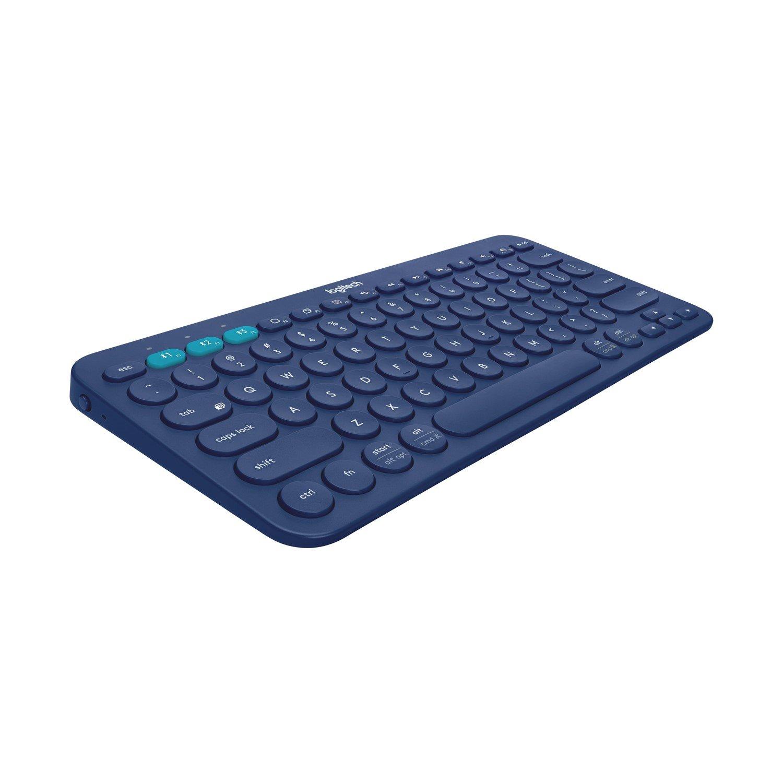 Logitech K380 Keyboard - Wireless Connectivity - Blue
