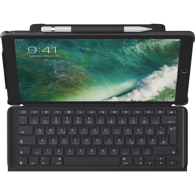 "Logitech Slim Combo Carrying Case (Folio) for 26.7 cm (10.5"") iPad Pro - Black"