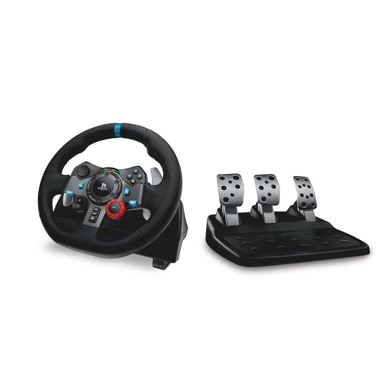 Logitech Driving Force G29 Gaming Steering Wheel, Gaming Pedal