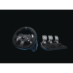 Logitech Driving Force G920 Gaming Steering Wheel, Gaming Pedal
