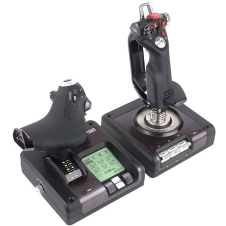 Saitek Pro Flight X52 Gaming Joystick, Gaming Throttle