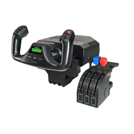 Saitek Pro Flight Gaming Yoke, Gaming Throttle