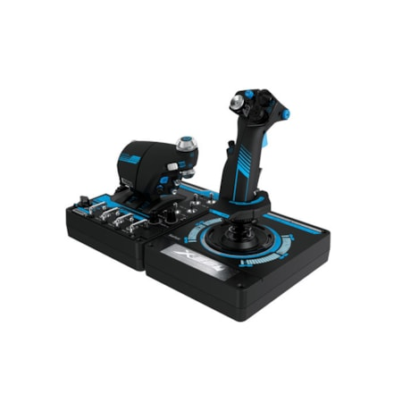 Logitech H.O.T.A.S. X56 Gaming Throttle, Gaming Joystick