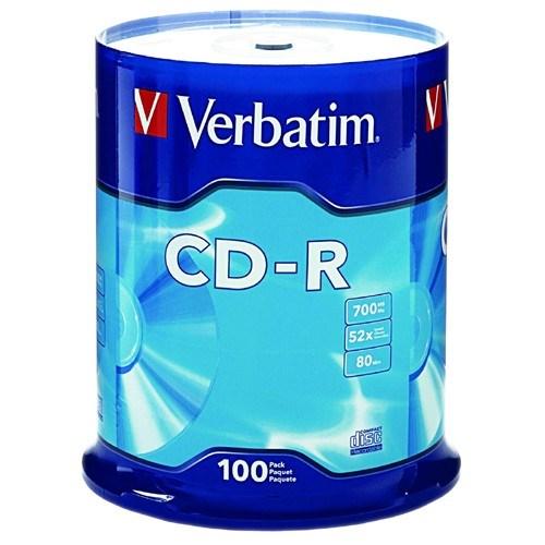 Verbatim 94554 CD Recordable Media