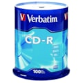 Verbatim 94554 CD Recordable Media - CD-R - 52x - 700 MB - 100 Pack Spindle