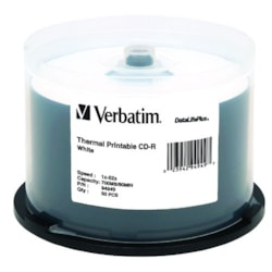Verbatim DataLifePlus 94949 CD Recordable Media - CD-R - 52x - 700 MB - 50 Pack Spindle