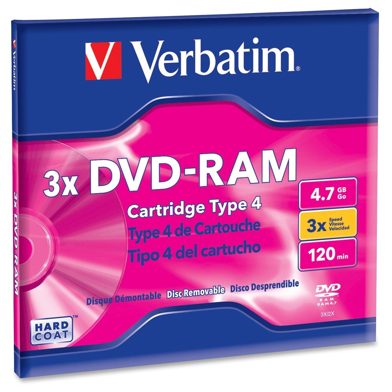 Verbatim DVD Rewritable Media - DVD-RAM - 3x - 4.70 GB