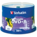 Verbatim DVD Recordable Media - DVD+R - 16x - 4.70 GB - 50 Pack Spindle