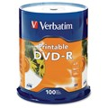 Verbatim DVD Recordable Media - DVD-R - 16x - 4.70 GB - 100 Pack
