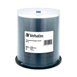Verbatim 95253 CD Recordable Media - CD-R - 52x - 700 MB - 100 Pack Spindle
