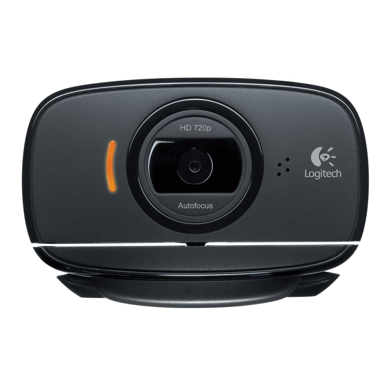 Logitech C525 Webcam - Black - USB 2.0
