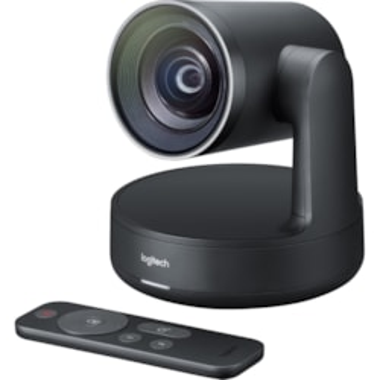 Logitech Video Conferencing Camera - 13 Megapixel - 60 fps - Matte Black, Slate Grey - USB 3.0