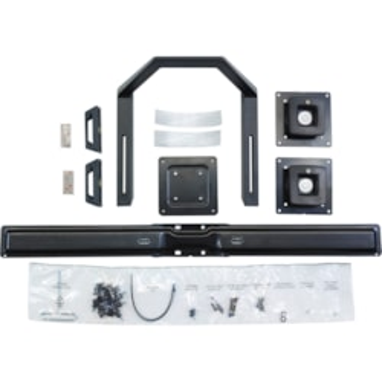 Ergotron Crossbar for Flat Panel Display - Black