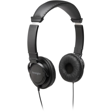 Kensington Wired Over-the-head Stereo Headphone - Black