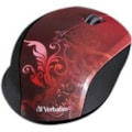 Verbatim Mouse - Optical - Wireless - Red