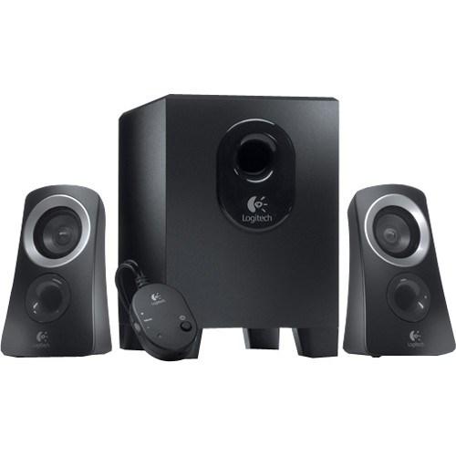Logitech Z313 2.1 Speaker System - 25 W RMS - Black