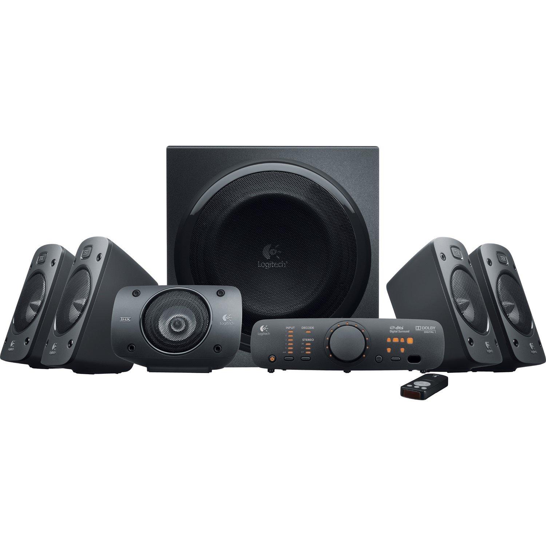 Logitech Z906 5.1 Speaker System - 500 W RMS