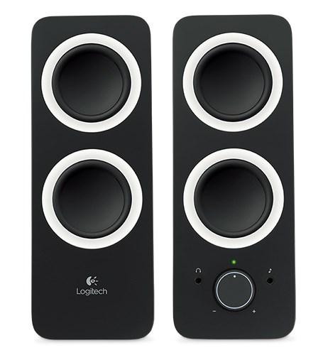 Logitech Z200 Stereo Speakers,Rms(5W),3.5Mm(1),Black,2Yr WTY