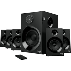 Logitech Z607 5.1 Speaker System - 80 W RMS - Wireless Speaker(s) - Wall Mountable