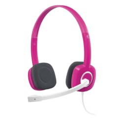 Logitech H150 Wired Stereo Headset - Over-the-head - Supra-aural - Pink