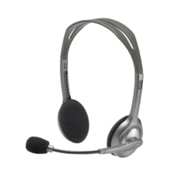 Logitech H110 Wired Stereo Headset - Over-the-head - Semi-open