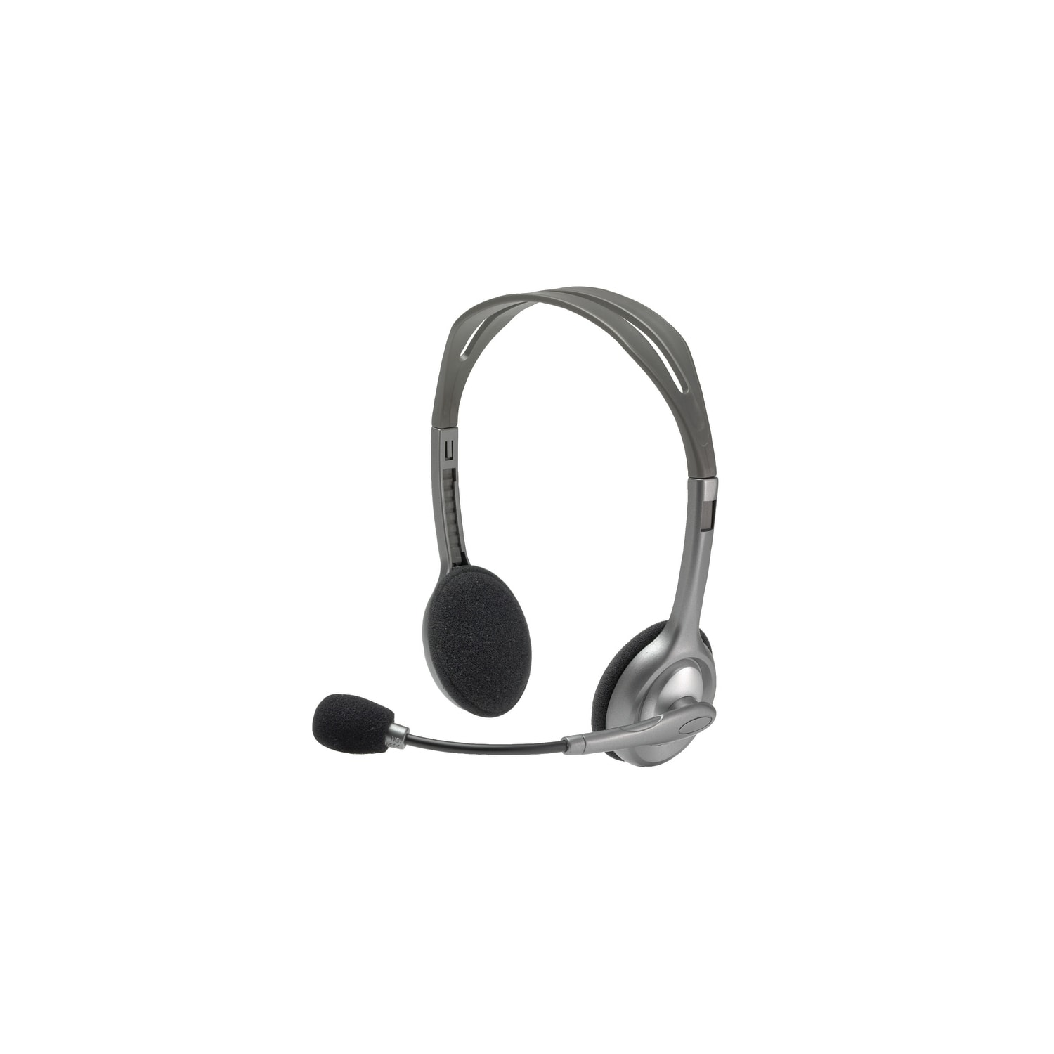 e5417637d3c Buy Logitech H110 Wired Stereo Headset - Over-the-head - Semi-open ...