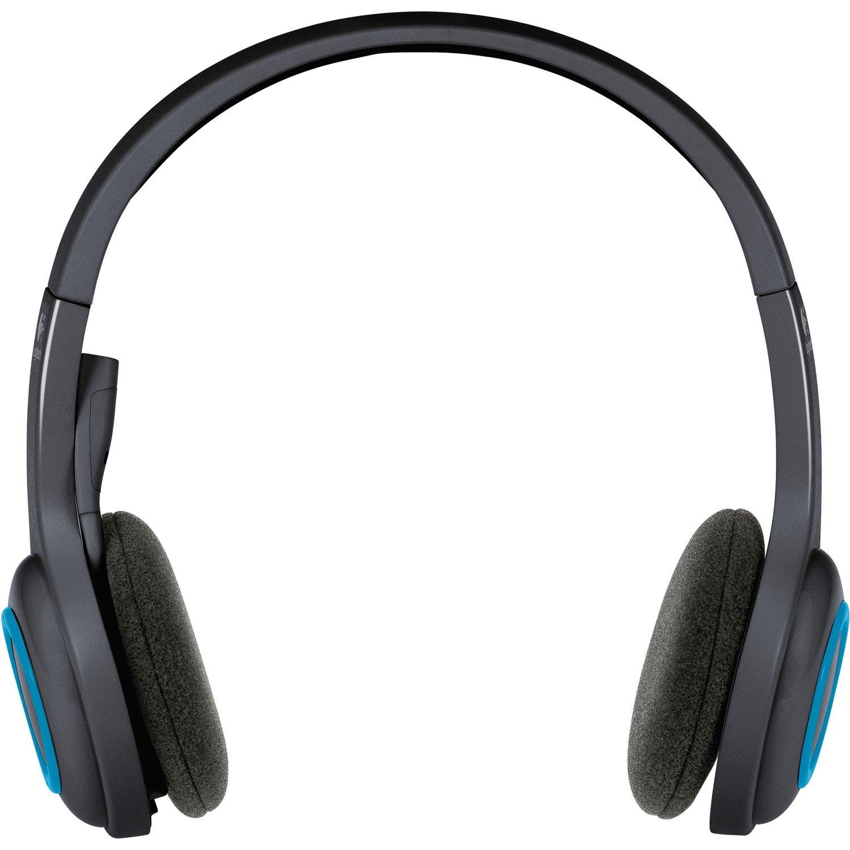 Logitech H600 Wireless Over-the-head Stereo Headset - Black