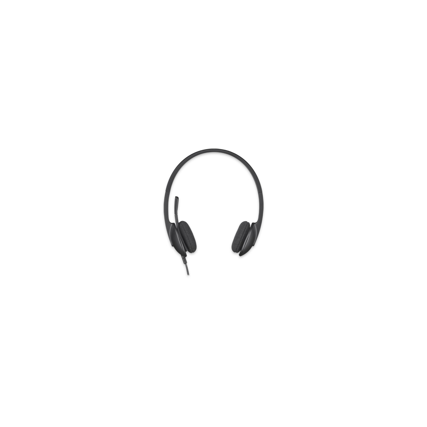 80b1669e295 Buy Logitech H340 Wired Stereo Headset - Over-the-head - Semi-open ...