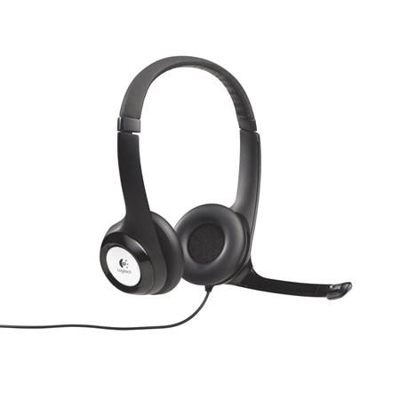 Logitech H390 Wired Stereo Headset - Over-the-head - Ear-cup