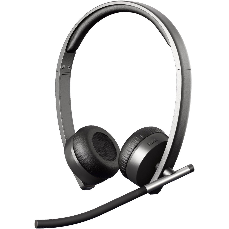 aec8fb1dc39 Logitech H820e Wireless DECT Stereo Headset - Over-the-head - Circumaural