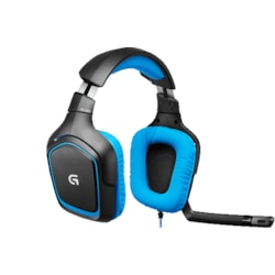 Logitech G430 Wired 40 mm Headset - Over-the-head - Circumaural
