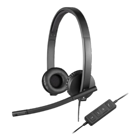 Logitech H570e Wired Over-the-head Stereo Headset