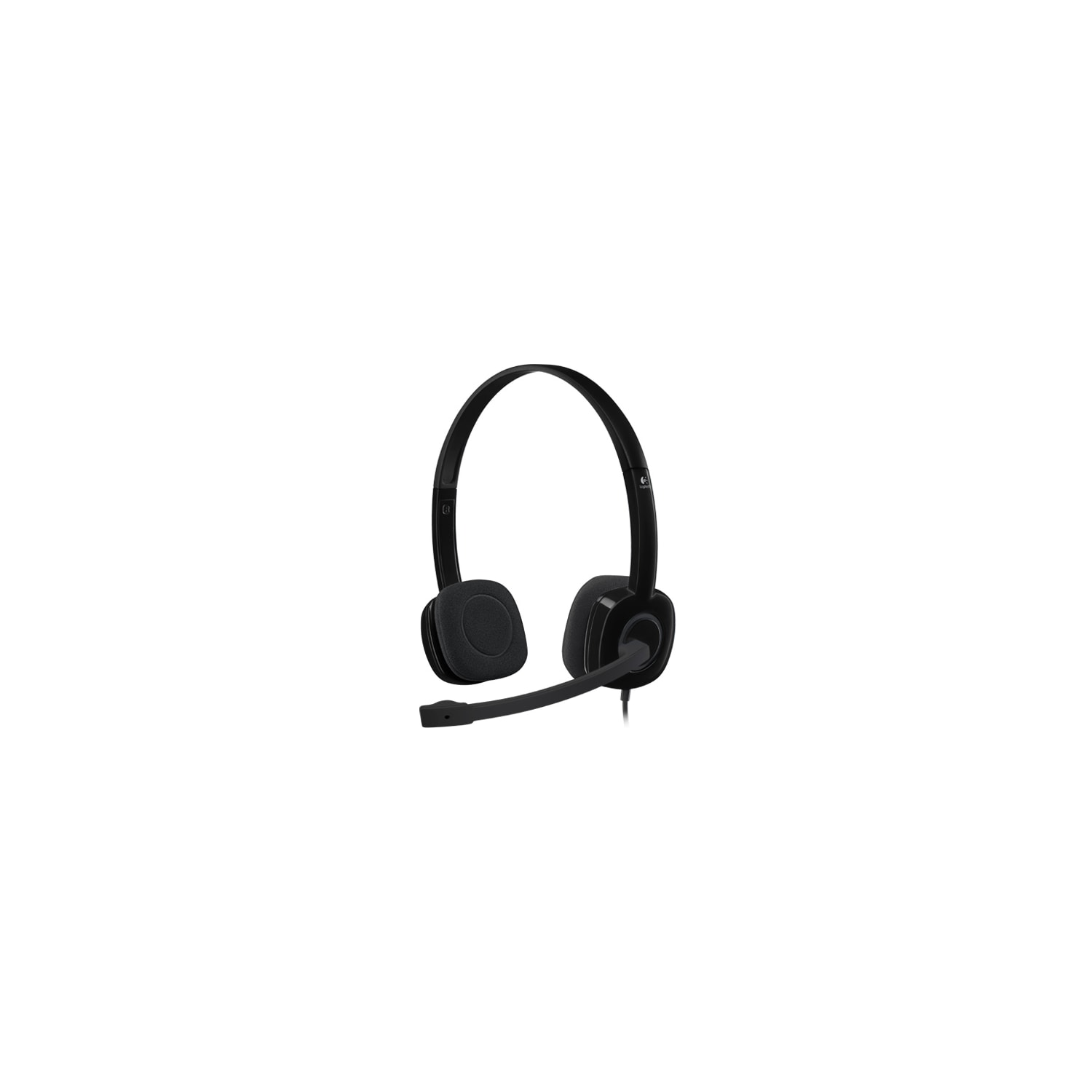 faf03b810ff Buy Logitech H151 Wired Stereo Headset - Over-the-head - Supra-aural ...