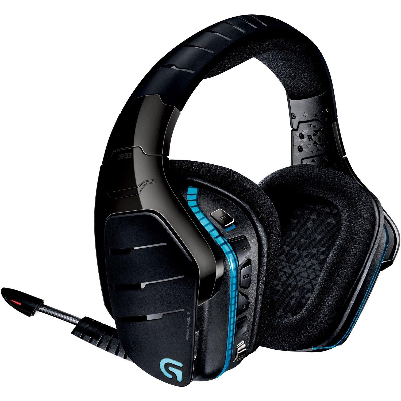 Logitech Artemis Spectrum G933 Wired/Wireless 40.64 mm Headset - Over-the-head - Circumaural