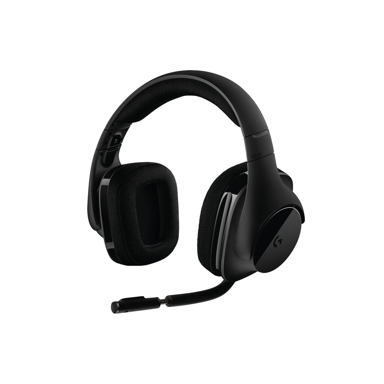 Logitech Wireless G533 Wireless Stereo Headset - Over-the-head - Circumaural