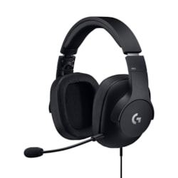 Logitech G PRO Wired Stereo Headset - Over-the-head - Circumaural - Black